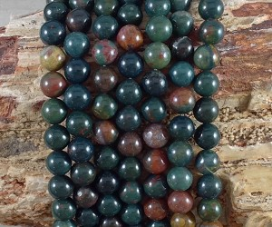 Bloodstone 8mm Round
