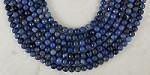 Sunset Dumortierite 8mm Faceted Round