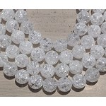 Crackle Crystal Quartz 16mm Round