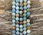 Multi Amazonite 10mm Round