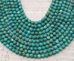 Russian Amazonite 6mm Round