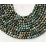 African Turquoise 6mm Round
