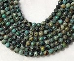 African Turquoise 8mm Round