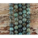 African Turquoise 10mm Round
