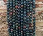 Bloodstone 6mm Round