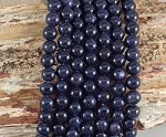 Blue Sandstone 8mm Round