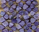Charoite 10-12 x 12-14mm Graduated Top Drill Teardrop