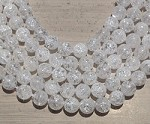 Crackle Crystal Quartz 12mm Round