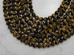Yellow Tiger Eye 10mm Faceted Round