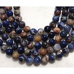 Orange Sodalite 12mm Round