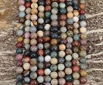 Polychrome Jasper 6mm Round