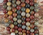 Red Creek Jasper 8mm Round
