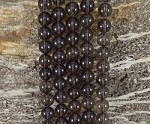 Smoky Quartz 10mm Round