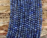 Sunset Dumortierite 4mm Round