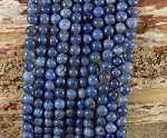 Sunset Dumortierite 6mm Round