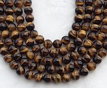 Yellow Tiger Eye 10mm Round